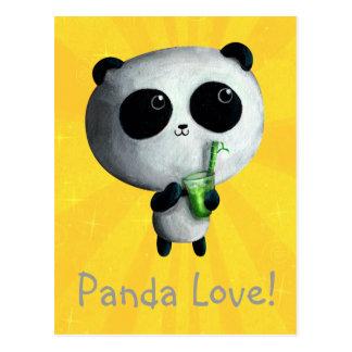 I love Cute Pandas Postcard