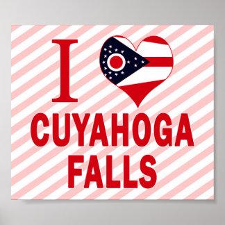 I love Cuyahoga Falls, Ohio Posters