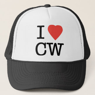 I Love CW Trucker Hat