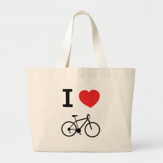 I love Cycling Tote Bags