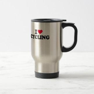 I Love Cycling Coffee Mug