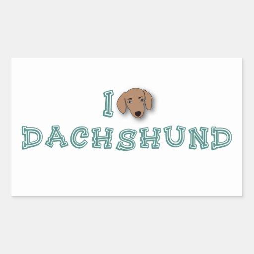 I Love Dachshund