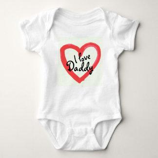 I Love Daddy Bodysuit