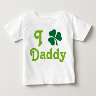 I Love Daddy Infant Shamrock Tee