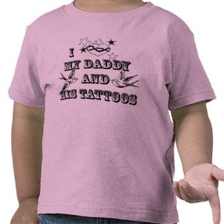I Love Dad's Tattoos T Shirt