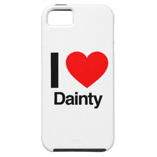 i love dainty iPhone 5 case