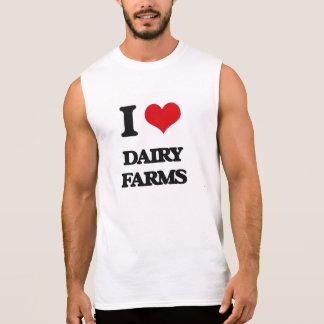 I love Dairy Farms Sleeveless Tees