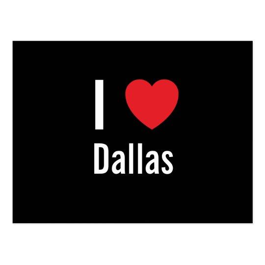 I love Dallas Postcard