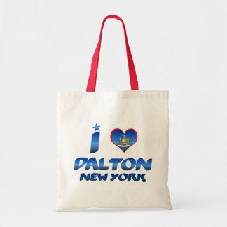 I love Dalton, New York Tote Bag