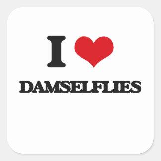 I love Damselflies Stickers