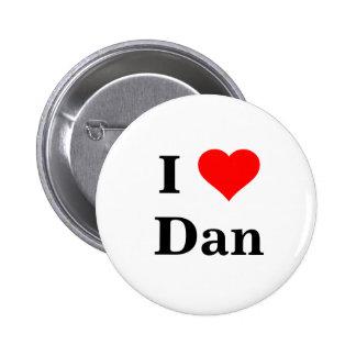 I Love Dan Button