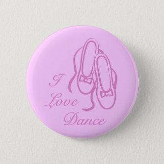 I Love Dance 2 Inch Round Button