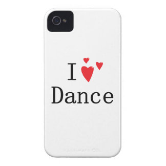 I Love Dance iPhone 4 Cover