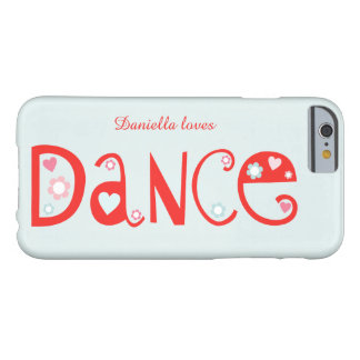 I Love Dance iPhone 6/6s Case
