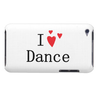 I Love Dance iPod Touch Cases