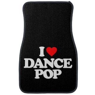 I LOVE DANCE POP CAR CARPET