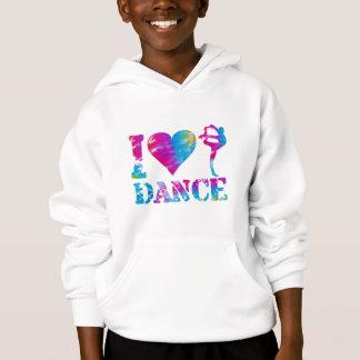 I Love Dance Tie Dye