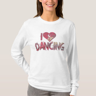 I Love Dancing Shirts Bags