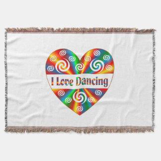 I Love Dancing Throw