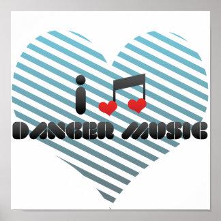 I Love Danger Music Posters