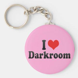 I Love Darkroom Keychain