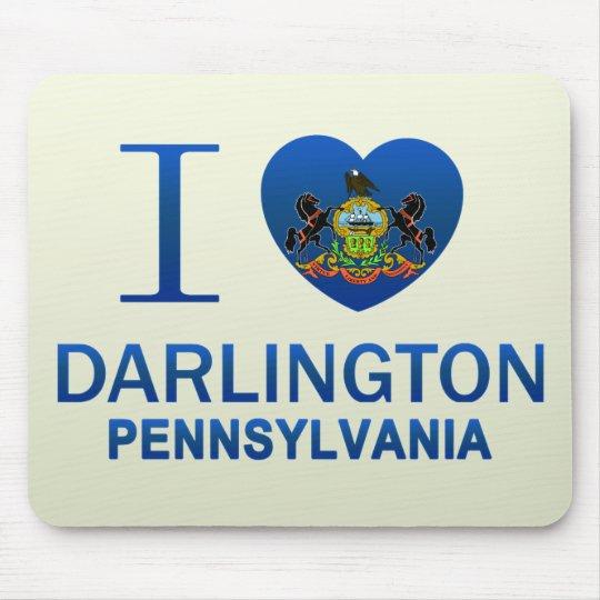 I Love Darlington, PA Mouse Pad
