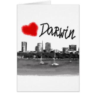 i love Darwin Card