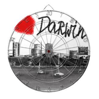 i love Darwin Dartboard