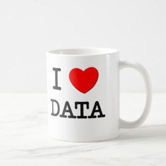 I Love Data Coffee Mugs