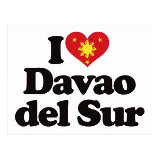 I Love Davao del Sur Postcard
