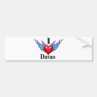 I Love Davao.jpg Bumper Sticker