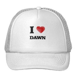 I love Dawn Trucker Hat