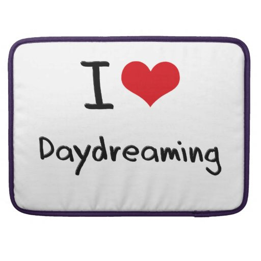 I Love Daydreaming Sleeve For MacBook Pro