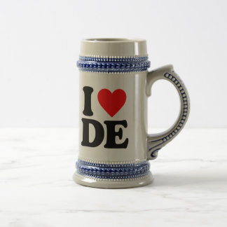 I LOVE DE BEER STEIN