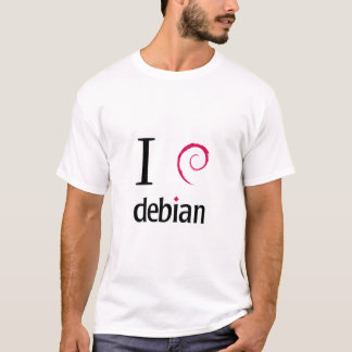 I love Debian T-Shirt