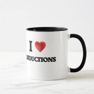 I love Deductions Mug