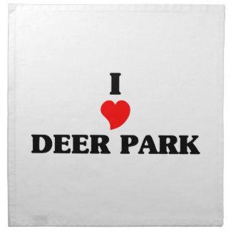 I love Deer Park Napkin