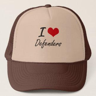 I love Defenders Trucker Hat