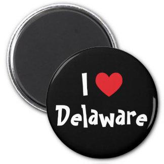 I Love Delaware Magnet