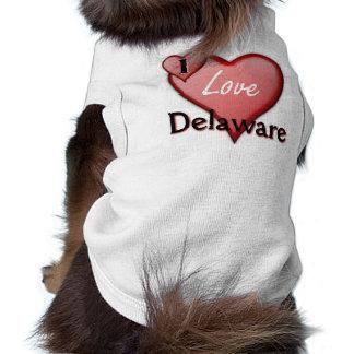 I Love Delaware Pet Tee