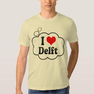 I Love Delft, Netherlands T Shirts