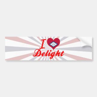 I Love Delight, Arkansas Bumper Stickers