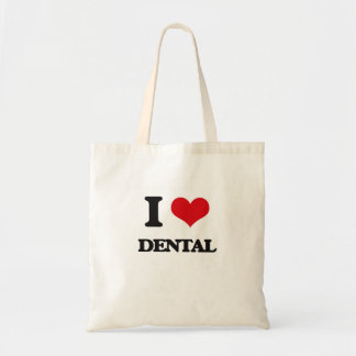 I love Dental Tote Bag