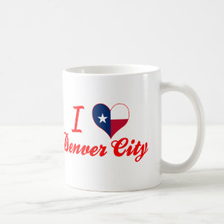 I Love Denver City, Texas Coffee Mug