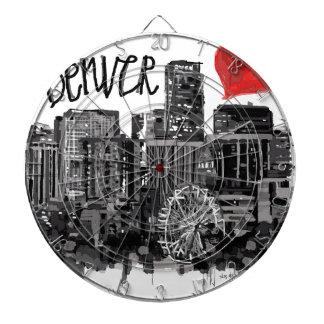 I love Denver Dartboard
