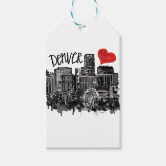 I love Denver Gift Tags