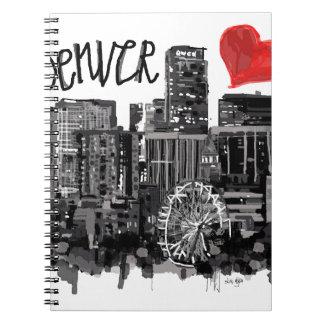 I love Denver Notebooks