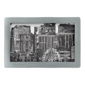 I love Denver Rectangular Belt Buckle