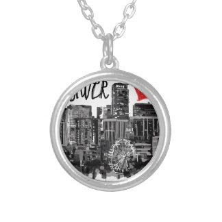 I love Denver Silver Plated Necklace