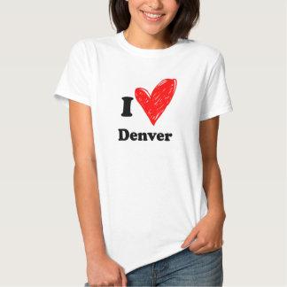 I love Denver T-shirts